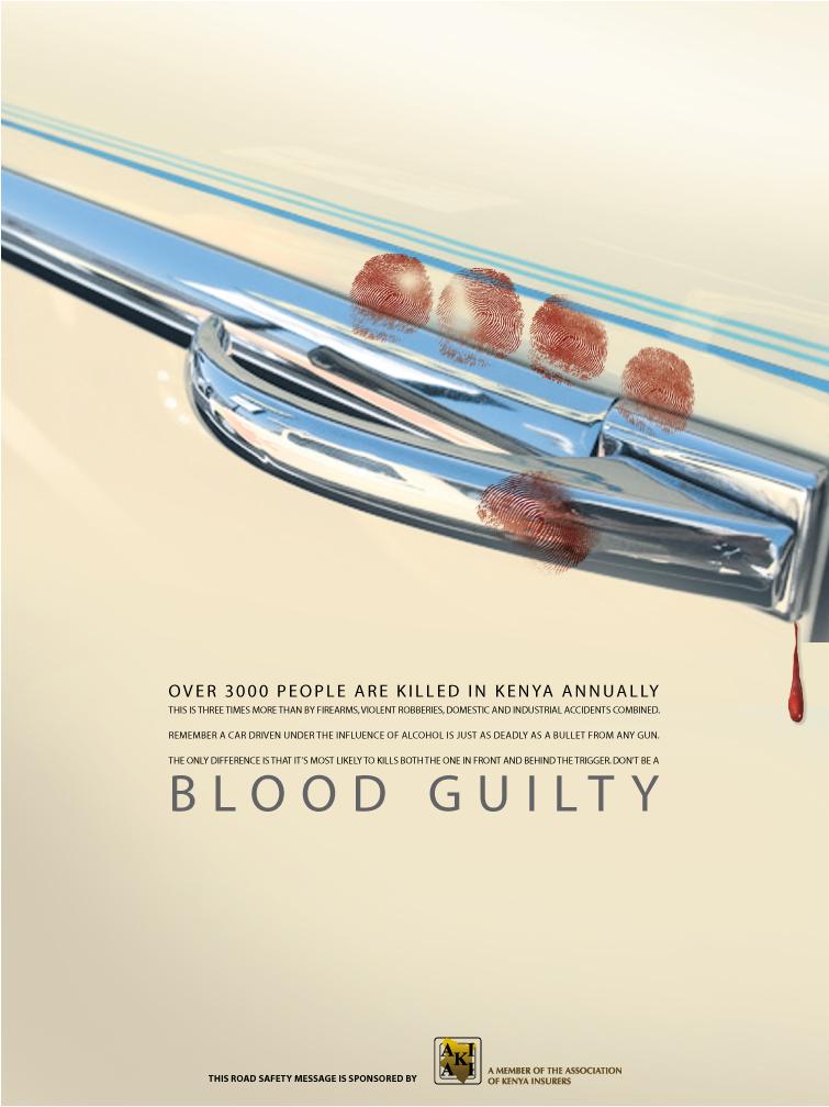 Grafous :: Diseño Gráfico Social, Activista y Sostenible :: Accidentes de Tráfico :: Kenia