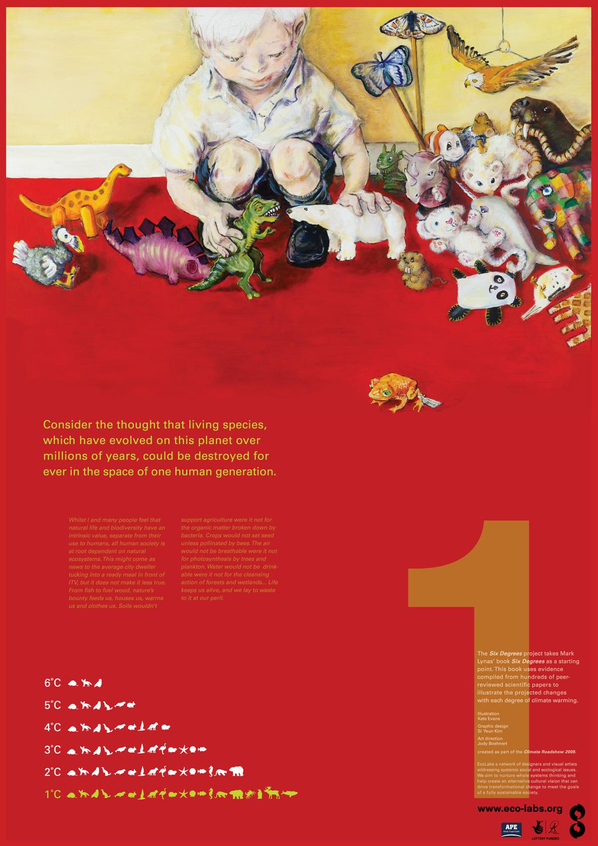 Grafous :: Diseño Gráfico Social, Sostenible y Activista :: Six Degree. EcoLabs
