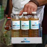 Vending de agua contaminada