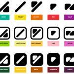 Código de color para daltónicos