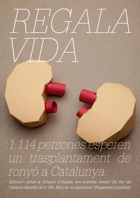 Grafous :: Diseño gráfico social, sostenible y activista :: United Fakes :: Donación de órganos