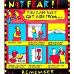 25 años: Diseño gráfico y SIDA