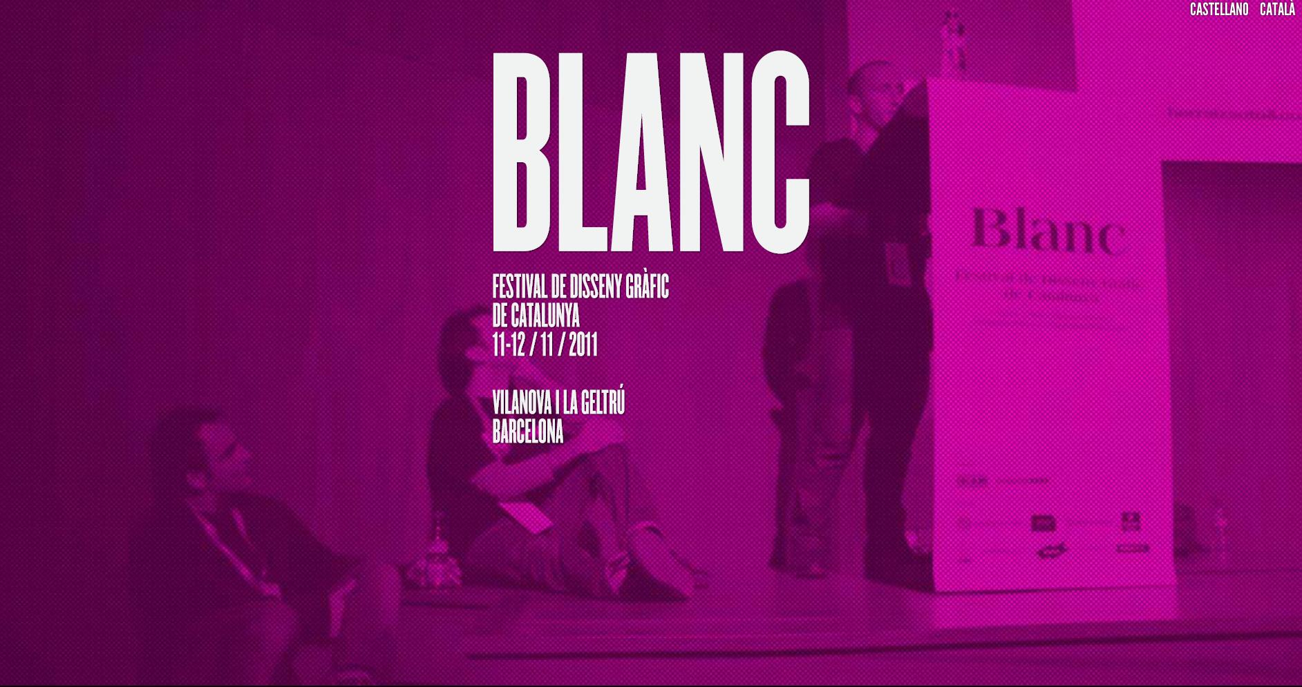 Grafous :: Blanc. Festival de Disseny Gràfic de Catalunya