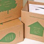 Cajas que reciclan
