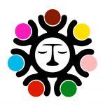 Logo para los derechos humanos