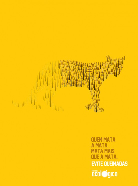 Grafous :: Diseño Gráfico Ecológico :: Deforestación en Brasil