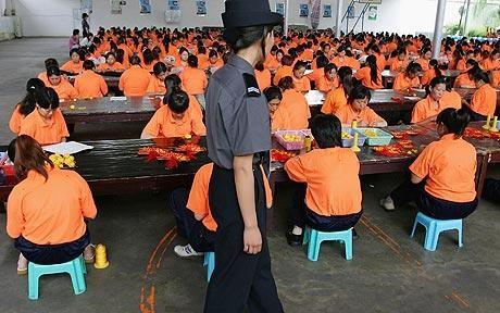Grafous :: China Working :: Slave labor prisoners in China :: Trabaja esclavo