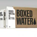 Botella de agua de cartón