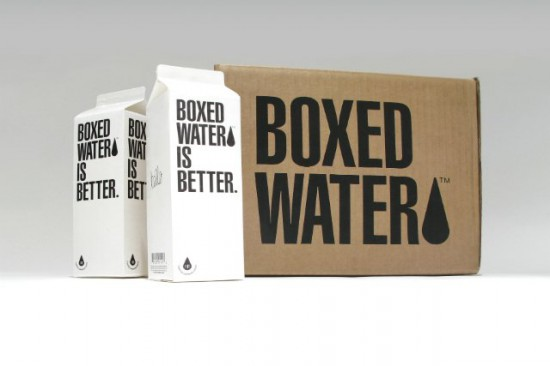 Packaging Sostenible :: Agua en cartón