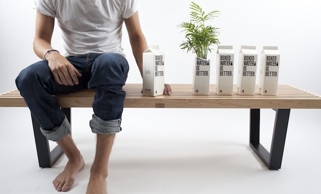 Packaging Sostenible :: Agua en cartón