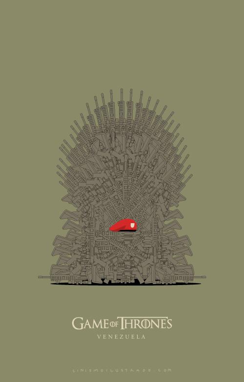 game of thrones venezuela :: El espíritu de los cínicos :: Grafous, Diseño Gráfico Activista