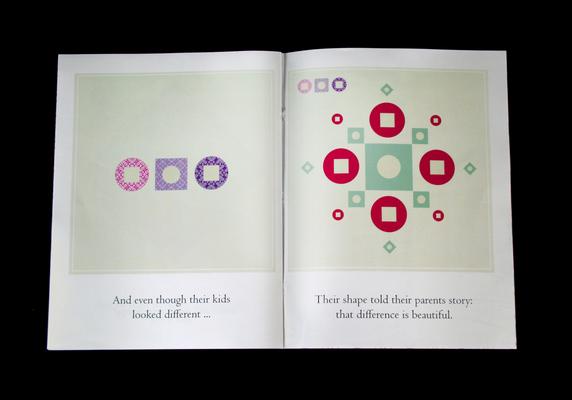 grafous :: Contra la discriminación étnica en la infancia :: Diseño gráfico social