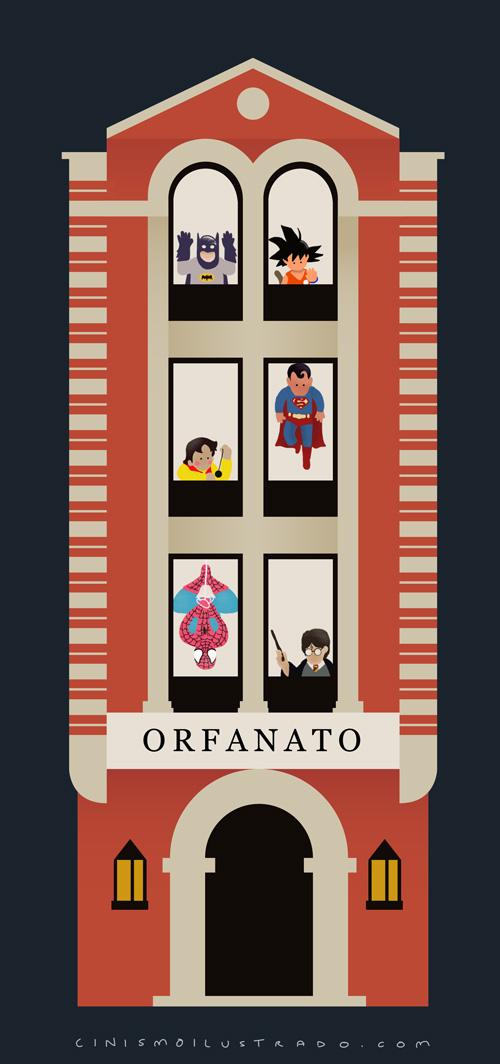 Orfanato :: El espíritu de los cínicos :: Grafous, Diseño Gráfico Activista