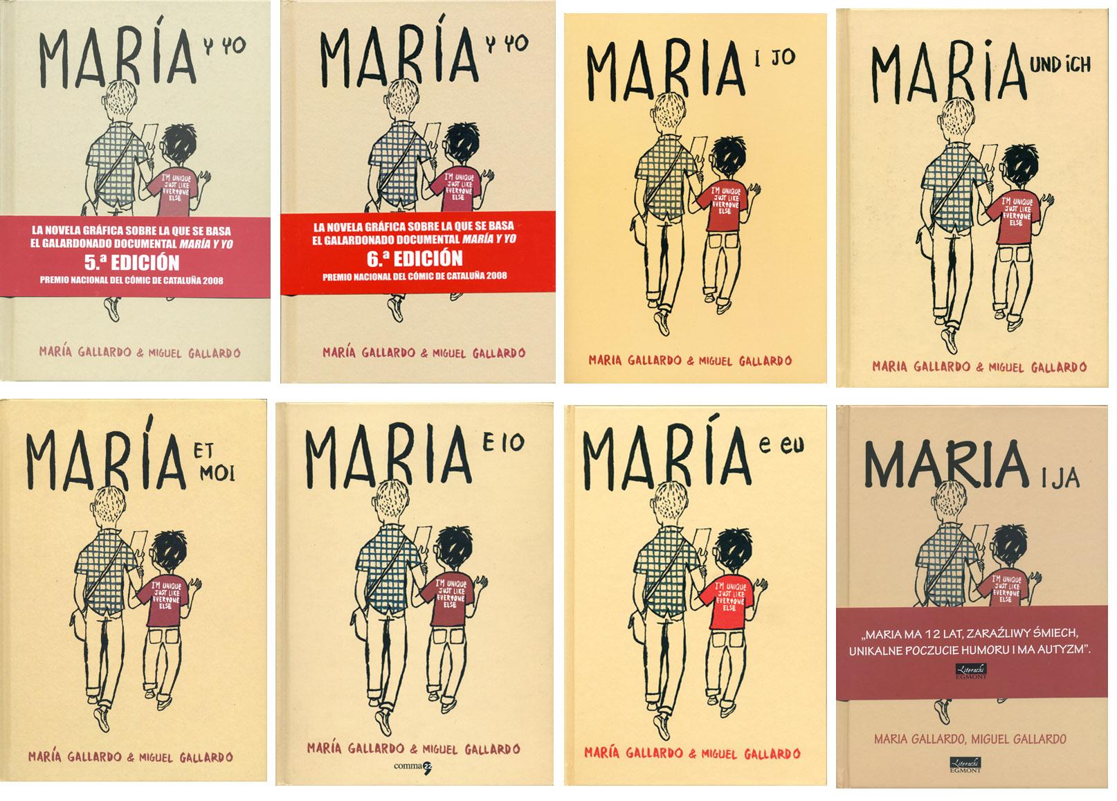 Maria y Yo - Miguel Gallardo - Grafous