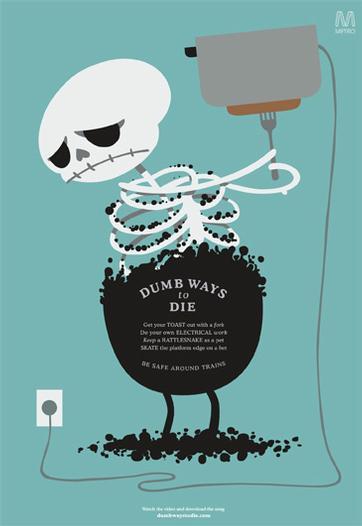 Grafous - Diseño Gráfico Social - Dumb Ways to Die