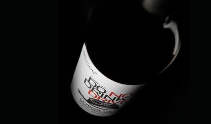 Etiqueta vino ecológico - No bebas y conduzcas