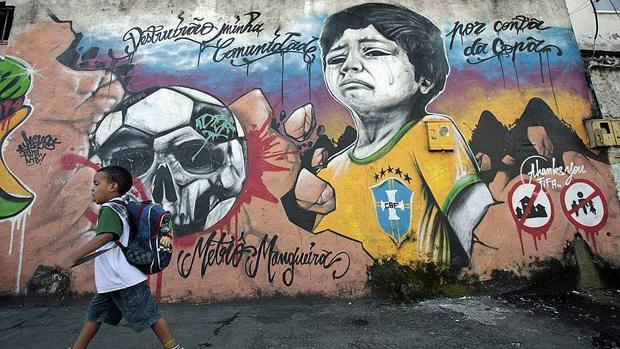 Mundial de Brasil | Grafous Diseño Gráfico Urbano
