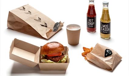 burger station | Grafous | Diseño Gráfico Sostenible