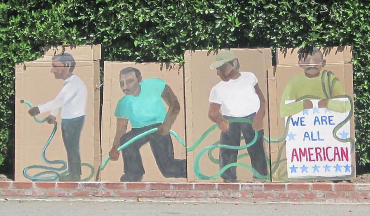 Grafous | Ramiro Gomez | Artista | Trabajadores mexicanos | Beberly Hills