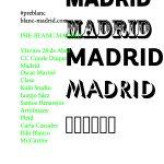 Blanc Madrid